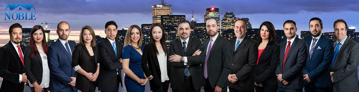 Noble Mortgages Team Group Picture